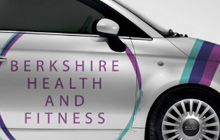Berkshire Health and Fitness Branding